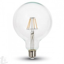 LED Bulb - 10W Filament E27 G125 Natural White