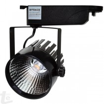 LED INTERIOR FLOODLIGHT 12W COB BLACK BODY, WARM WHITE LIGHT