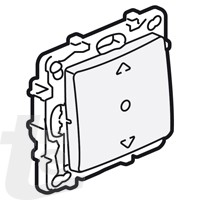 Legrand - Ключ за щори 3 позиции без крачета.
