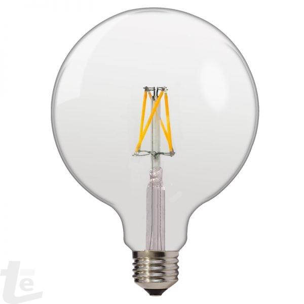 LED Нажежаема Крушка G125 6W E27 175-265V 2700K