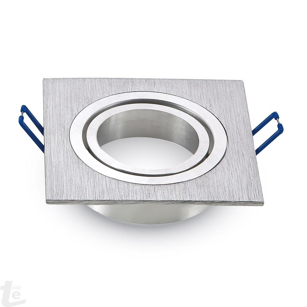 1 x GU10 Корпус Квадратен Алуминий