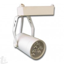 LED Релсов Прожектор Бял 3W 3000К
