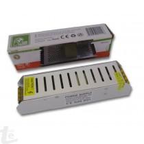 150W 12A Slim Захранване за LED Ленти с Метален Корпус