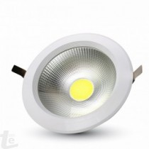 LED Луна COB 20W  Кръг A++ 120/W 6400K