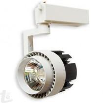 LED COB Релсов Прожектор Бял 10W 3000К