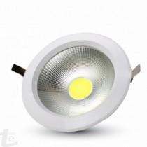 LED Луна COB 30W  Кръг A++ 120/W 4000K