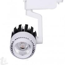 LED COB Релсов Прожектор Бял 30W 6000К