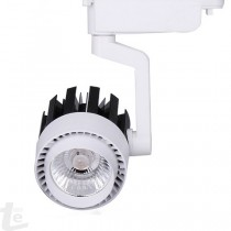 LED COB Релсов Прожектор Бял 20W 6000К