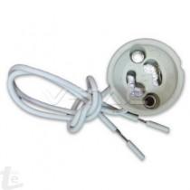 GU10 Керамична фасунга Силиконов кабел