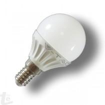 LED Крушка - 4W E14 P45 Топло Бяла