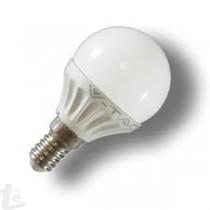 LED Крушка - 4W E14 P45 Бяла