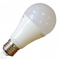 LED Крушка - 10W E27 A60 Термо Пластик Топло бяла светлина