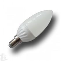 LED Крушка - 4W E14 Свещ Топло Бяла