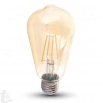 LED Крушка - 4W E27 Нажежаема ST64 2200K Димиране