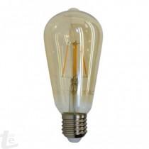 LED Крушка - 6W E27 Нажежаема ST64 2200K