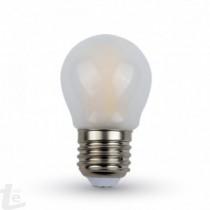 LED Крушка - 4W Нажежаема E27 G45 6400K