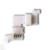 Ъглов Коктор за RGB LED Лента Тип SMD5050