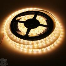 Топло Бяла Влагозащитена LED Лента SMD5050 3000K