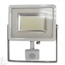 LED SMD Прожектор 20W Сензор Бяло Тяло 3000K