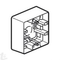Legrand - Кутия открит монтаж, 88.5 x 88.5 mm – дълбочина 40 mm.