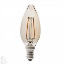 LED Крушка - 4W Нажежаема E14 Свещ 2200K
