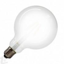 LED Крушка - 7W Винтидж E27 G125 Топло бяла светлина
