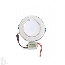 LED Панел за Вграждане  New Style 5W Кръгъл 4500К