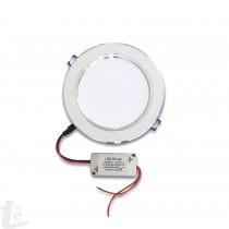 LED Панел за Вграждане  New Style 9W Кръгъл 4500К