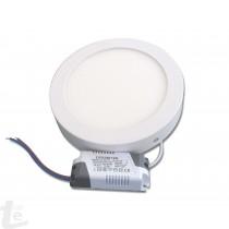 LED Панел за Повърхностен Монтаж 18W Кръгъл 4500К