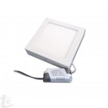 LED Панел за Повърхностен Монтаж 12W Квадратен 4500К
