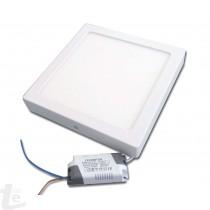 LED Панел за Повърхностен Монтаж 24W Квадратен 4500К