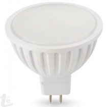LED Луничка 7W Термопластик G5.3 220V 6000K Бяла Светлина