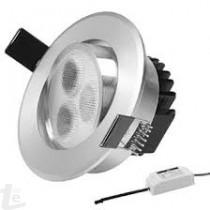Кръгла Спот LED Луна 3W  4500К