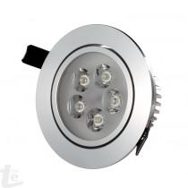 Кръгла Спот LED Луна 5W  4500К Дневна Светлина