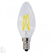 LED КРУШКА FILAMENT C35 4W 175-265V E14 6000K