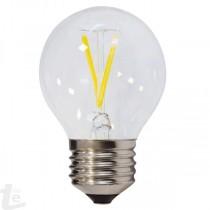 LED Нажежаема Крушка G45 2W E27 175-265V 2700K