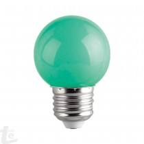 LED КРУШКА - G45 -1W - E27 - ЗЕЛЕНА