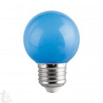 LED КРУШКА - G45 -1W - E27 - СИНЬО