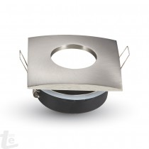 GU10 Корпус Квадратен Satin Nickel