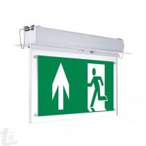 LED Евакуационна Табела За Вграждане В Таван 3 Часа Време За Светене С ПВЦ Легенда