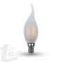 LED Крушка - 4W Нажежаема E14 Свещ Tail 6400K