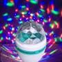 LED Крушка 3W  E27 с Диско Ефект